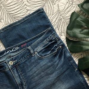 ❄️ INC •Boot Leg Slim Tech Jeans